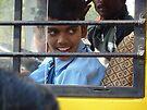 Indian schoolboy by shireengol