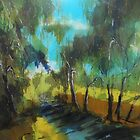 Along the Seymour-Pyalong Road, Seymour, Vic. Australia by Margaret Morgan (Watkins)