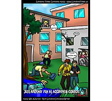 Another Day @ Accidental College by Londons Times Cartoons Photographic Print
