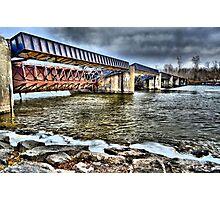 """ Caughdenoy Dam - Caughdenoy, NY "" Photographic Print"
