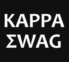 Kappa Swag (White) by GabeForsell