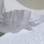 Snow sculpture by Margherita Bientinesi