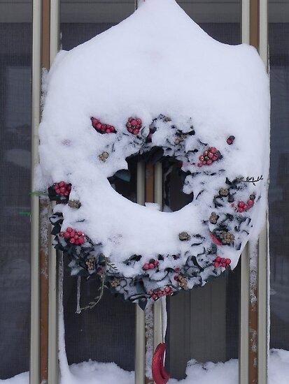 Snow garland by Margherita Bientinesi