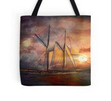 Singing sails...... Tote Bag