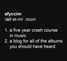 afyccim definition - shirt by afyccim
