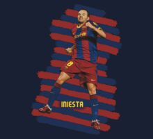 Iniesta - BCN football player Kids Clothes