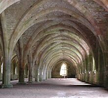 Monks refectory by Pete Johnston