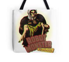 Robot Monster Tote Bag