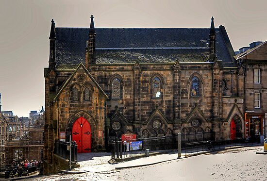 St Columba's Free Church by Tom Gomez