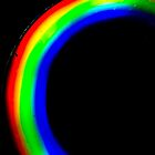 Abstract light in Dark room by spectramynd