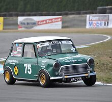 Racing Mini by Pete  Burton
