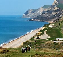Walking The Coastal Path ~ Eype, Dorset by Susie Peek