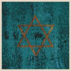Christian Star / Star of David T-Shirt by Andrew Bret Wallis