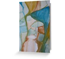 Raw Abstract - A Detail Greeting Card