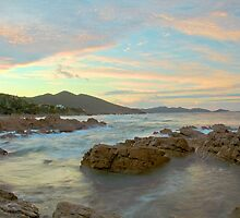 Sunset Over Rocky Cape by Paul Campbell Psychology