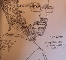 Mark Watson by aislinndraws