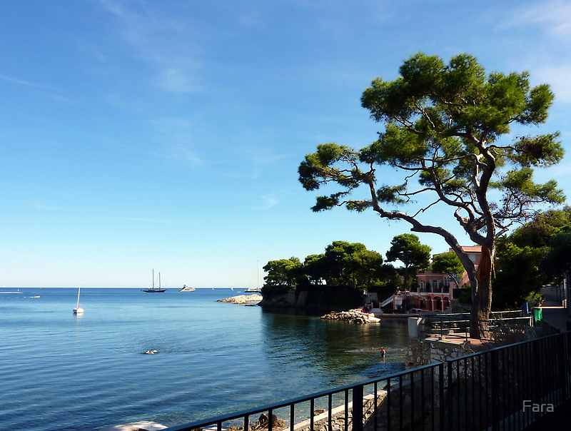 Walking Around Cap Ferrat by Fara