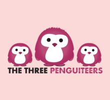 The three Penguiteers Kids Clothes