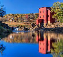 Autumn Comes to Dillard Mill by Jerry E Shelton