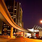 Detroit at Night by Tina Logan