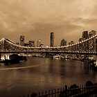Story Bridge in Sepia by Kristin Repsher
