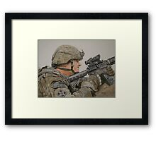 The Rifleman Framed Print
