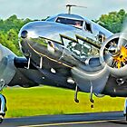 Lockheed 12a Electra Junior on taxi by Rod Reilly