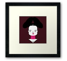 Bjork, Homogenic Framed Print