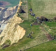 Close To The Edge ~ Eype, Dorset by Susie Peek