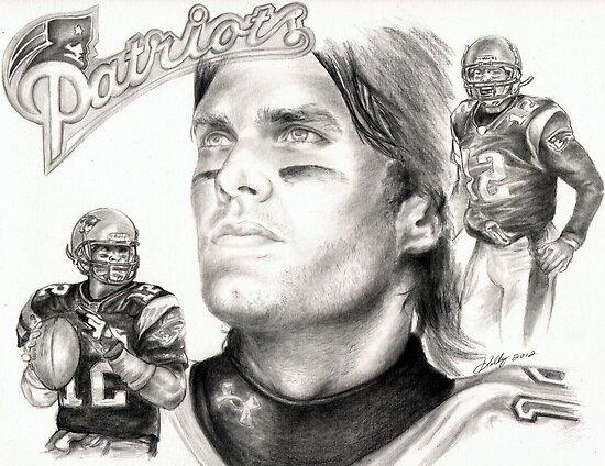 Tom Brady by Kathleen Kelly-Thompson