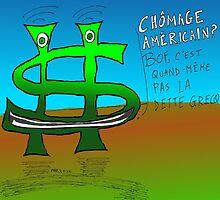 Options binaires en caricature - chômage mieux que l'inquiétude sur la dette grecque by Binary-Options