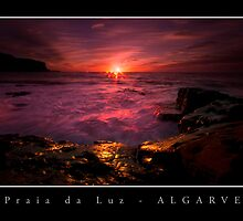 Praia da Luz Sunrise by Guy Davies