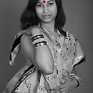 My Red Bindi... by Mukesh Srivastava