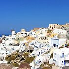 Oia Village II by Tom Gomez