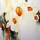 Happy Daffodil by Bev  Wells