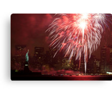 Forth of July Canvas Print