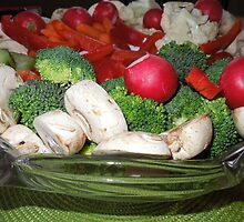 Veggies for the Super Bowl Party..... by DonnaMoore