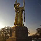 The bronze statue of the Republic by Sven Brogren