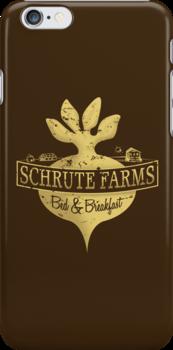 Schrute Farms B&B (no circles) by PEZRULEZ