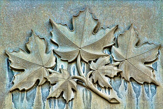 Quot maple leafs forever carved in stone by marilyn cornwell