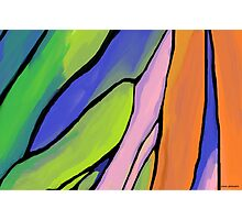 Abstract Fingers of Dawn Photographic Print