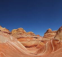 The Wave Panorama by dlhedberg