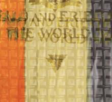 Grunge War Book Sticker