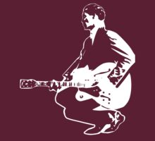 CHUCK BERRY T-SHIRT ON DARK by parko