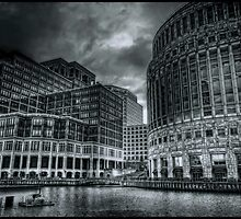 Canary Wharf Complex by Alan E Taylor