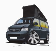 VW T5 California Camper Van Grey by Richard Yeomans
