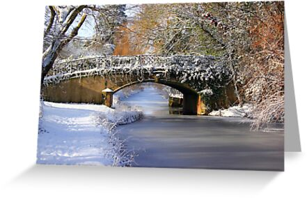 Winter at Lady's Bridge by John Dunbar