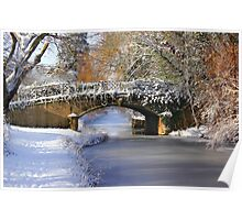 Winter at Lady's Bridge Poster