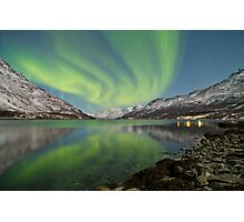 Aurora Reflection Photographic Print