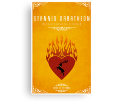 Stannis Baratheon Personal Sigil Canvas Print